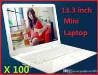 Wholesale 13 inch VIA Dual core GB GB GHz laptop bluetooth HDMI netbook kids Mini laptops youtube cheap DHL