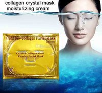 best collagen powder - best selling Gold Bio Collagen Facial Mask Face Mask Crystal Gold Powder Collagen Anti aging whitening moisturizing astringe Gold Face Mask