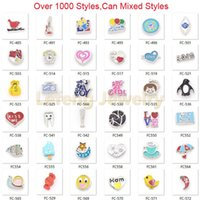 Wholesale Hot Sale Over Style Can Mixed Different Designs Fashion Alloy Floating Charms For Glass Living Lockets