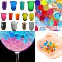 Wholesale 50 grams each Bag of Crystal Soil Water Mud Beads Jelly Gel Balls Wedding