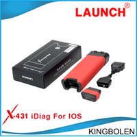 Wholesale Full System Car Diagnostic Tool Launch X431 Idiag for IOS Iphone Ipad X Idiag Easy Diag Scanner Diagun III Function