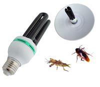Wholesale 2015 NEW V W E27 UV lamp Black light trap lamp violet light agricultural insecticide pest killing lamp