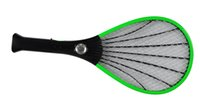 mosquito racket - New Rechargeable LED Electric Insect Bug Fly Mosquito Zapper Swatter Killer Racket layer Net Safe