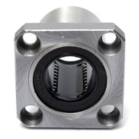 Wholesale Brand New Line Linear Bearings LMK20UU Square Flange Type Straight Line Linear Bearings Steel Excellent Quality
