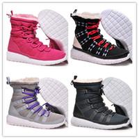 Cheap Free Shipping 2014 Winter Warm Shoes Running Shoes Women Sport