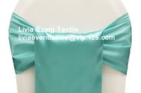 aqua party decorations - Top Quality Aqua Satin Sash x270cm For Wedding Events amp Party Decoration