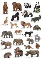 guinness - Guinness model Shangzhi toys animal model of ultra realistic simulation animal model wild animal