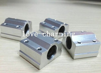bearing units - 4pcs SC12UU SCS12UU mm Linear Motion bearing case unit for cnc router
