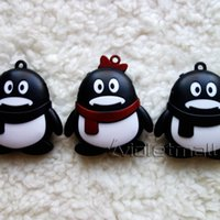 Wholesale MP3 Players Cartoon Mini Penguin MP3 Player Support Micro SD TF Card Low Price Best Quality Cute