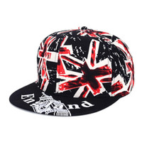 baseball caps uk - Men Women UK Flag England Baseball Cap Peaked Visor Hat Adjustable Baseball Visor Snapback Hat