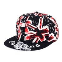 baseball hats uk - Men Women UK Flag England Baseball Cap Peaked Visor Hat Adjustable Baseball Visor Snapback Hat