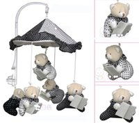 Wholesale TOP QUALITY music Brand new Cute Spiral Activity Stroller Car Seat Cot Babyplay Travel Toys newborn Baby Rattles Toy Mobiles