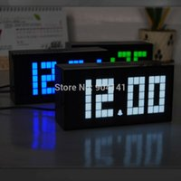 antique perpetual calendar - Multifunctional Digital LED Clock Magic Alarm Clock Perpetual Calendar Thermometer Timer NEW