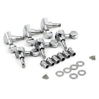 Wholesale 1Set String Tuning Pegs Tuners Chrome Inline Guitar Machine Head R Right Hot Worldwide