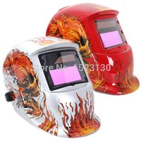 Wholesale 2015 High Quality Solar Auto Darkening Welding Helmet ARC TIG MIG Weld For Welding Grinding Mask