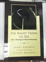 basic books - 2015 books The Right Thing To Do Basic Readings in Moral Philosophy
