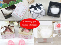 Wholesale 2016 wedding favors soap gift for bridesmaids groomsmen guests flower girls wedding party favors gifts box