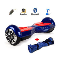 Wholesale Self Balancing Board Two quot Wheel Self Balance Electric Board Drifting Personal Transporter Mini Unicycle with Bluetooth Speaker