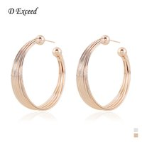 Wholesale Fashion New Hoop Earring Earrings for Women Big Circle Earrings Basketball Earings Gold Plated Earrings Indian Jewelry ER154592