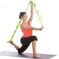 Wholesale New Yoga Belts Stretch Strap Belt Leg Fitness Exercise Gym Rope