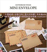 Wholesale New Cute vintage mini envelope Creative Mini Envelope Romantic Style envelope Gift Envelop designs