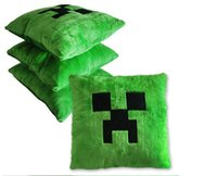 Wholesale Minecraft Creeper pillow soft plush toys MC stuffed dolls cartoon toy cushion x42cm pillows baby kids children new year gift