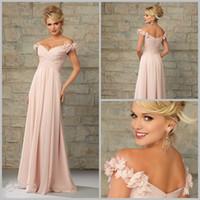 Cheap Beautiful Custom 2015 Long bridesmaids dresses Cheap Off-the-shoulder Flower Pleats Chiffon Zipper Ruffle bridesmaid dresses Prom dresses