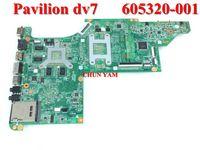 Wholesale Original laptop motherboard for HP Pavilion DV7 DV7 Notebook PC mainboard G tested Days Warranty