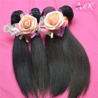 Cheap Full Head Real 100 Virgin Remy Human Hair Can Be Dyed Bleached Indian Straight Hair Weaves Cheap Human Hair Extensions Wholesale