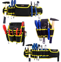 Wholesale hand Tool pocket Electrician tools package Multi functional Nail and Tool Bag with belt not include tools