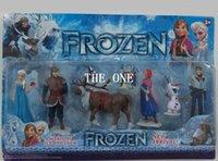 Cheap Frozen action Figure Best Frozen 6 Piece PVC