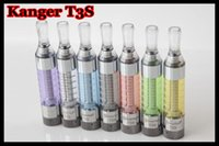 2.4ml kanger t3s - 100 originl kangertech t3s clearomizer authentic kanger t3s atomizer tank kangertech t3s clearomizer with many colors DHL