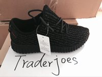 Wholesale 2016 Hot Mens and Womens Boost Moonrock Oxford Tan Pirate Black Turtle Dove Boosts Running Sneakers High Quality Free Drop Shipping