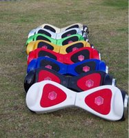Wholesale 2016 Unique design two wheel hoverboard self balancing scooter with LED light and dual bluetooth speaker