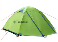 Wholesale 2015 New outdoor Gear Tents and Shelters Family Outdoor Hiking Waterproof Pers double layer shelters Backpacking tent Traveling Tents