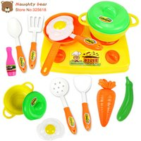 Wholesale 13pcs set Kitchen Toys Set Classic Toys Pretend Play simulation Role playing toys Educational toy