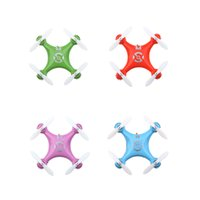 Wholesale Four colors CX Mini G CH Axis LED RC Quadcopter Toy helicopter RM940