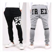 Wholesale New Mens Joggers Fashion Pyrex Harem Pants Trousers Hip Hop Slim Fit Skinny Sweatpants Men for Jogging Dance