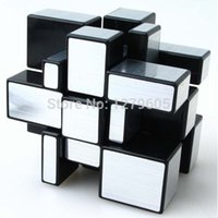 best toy mirror - Shengshou x3x3 Square Mirror Speed Magic Cube Puzzle Educational Toys Best Gift Golden amp Silver