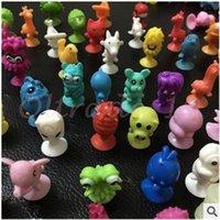Wholesale 2000pcs CCA3003 Multi style Ickee Stikeez Puppet Mini Monster Doll LIDL NEU Die Stikeez Aus Dem Weltall Komplett Satz Mit Allen PVC Toys