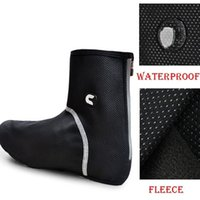 Wholesale cheji Cycling Shoe Covers winter Bicycle Bike Overshoe Fleece Thermal