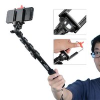 Wholesale Yunteng Extendable Self Portrait Selfie Stick tripod monopod for camera for gopro and with holder for iphone6 s and android phones