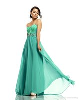 Cheap 2015 Elegant A-Line Prom Dresses Sweetheart Sleeveless Chiffon Feather Crystal Peplum Sweep Train Special Occasion Dresses