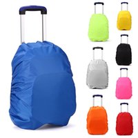 backpack protector bag - Waterproof Rain Dust Backpack Trolley Luggage Protector Cover for L Bag