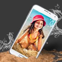 dustproof - NEW Dustproof waterproof S5 Phone MTK6592 Octa Core Android Phone i9600 G900H inch Full HD Screen Mobile Phone GB RAM GB ROM Smartphone