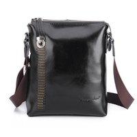 Wholesale Men s messenger bag cow split leather single shoulder bag messenger bag casual messenger bag fashion male bags ZA0056
