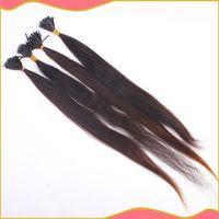 Natural Color u tip hair extensions - U Tip hair extensions straight type natural color g human hair