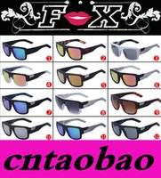 Wholesale Promotion color options Brand New Fx sunglasses women brand designer Fx glasses Vintage Goggle coating sun glasses FX THE Decorum