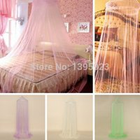 Wholesale 1pcs Elegant Round Lace Insect Bed Canopy Netting Curtain Dome Mosquito Net New House Bedding Decor