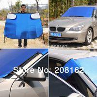 Wholesale Car Sun Shade Window Sunshade Covers Visor Shield Screen Foldable Bubbles Auto Sun Reflective Shade Windshield